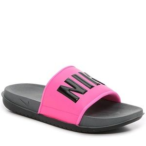 Nike Offcourt Slide Sandal Fuchsia Pink New!